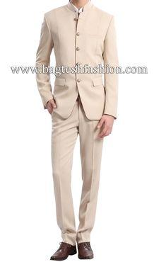 Aesthetic Ivory Wedding Jodhpuri Suit