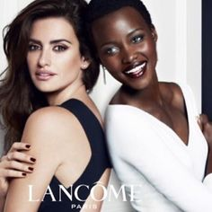 New Lancome campaign with the lovely @lupitanyongo  #mertandmarcus  Nueva campaña de Lancome con la preciosa @lupitanyongo  #mertandmarcus