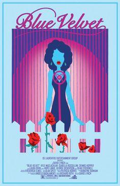 Blue Velvet art print released for the film's 25th anniversary