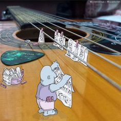 If Cartoon Characters Lived in the Real World. Lucas Levitan brings cartoons to life. If Cartoon Characters Lived in the Real World. Funny Cartoon Characters, Funny Cartoons, Lucas Levitan, Illustrator, Street Art, Best Guitar Players, Multimedia Artist, Music Humor, Music Memes