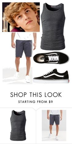 """Peter"" by emberjoy-922 on Polyvore featuring Blend, Vans, men's fashion and menswear"