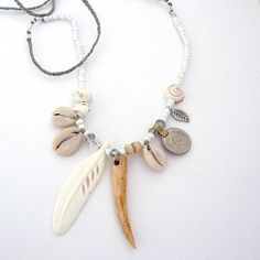 Eagle + Mermaid Necklace | PFYT Handmade Jewellery | Salt Living