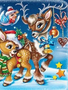 The perfect Reindeer HappyNewYear Animated GIF for your conversation. Discover and Share the best GIFs on Tenor. Merry Christmas Wallpaper, Merry Christmas Gif, Christmas Scenes, Christmas Animals, Disney Christmas, Christmas Love, Christmas Wishes, Christmas Greetings, Animated Christmas Pictures