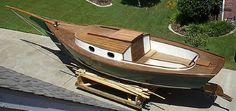 Vacationer Builder Photos Page 2 Trawler Yacht, Sailing Lessons, Sailboat Plans, Sailboat Living, Small Sailboats, Wooden Boat Building, Boat Projects, Naval, Cool Boats