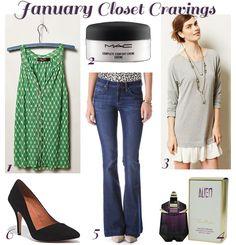 January Closet Cravings