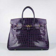 Hermes 2013 Birkin 35CM Crocodile Veins Handbags
