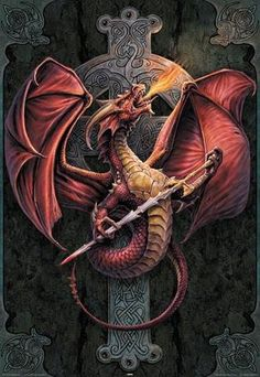 Anne Stokes ~ Celtic Dragon