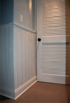 more wainscoting made from old pallets