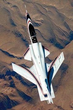 Second X-15 Rocket Planeis Shown With Two External Fuel Tanks 8x12 Photo Nasa X Nasa Program