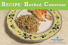 Simple herbed couscous - great with chicken or fish for a yummy dinner ...