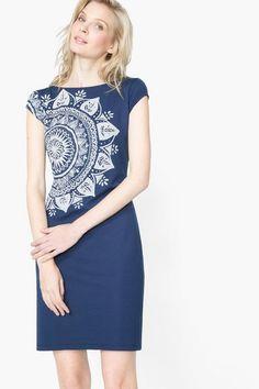 Spring 2016 Desigual Pinafore dress Cleopatra