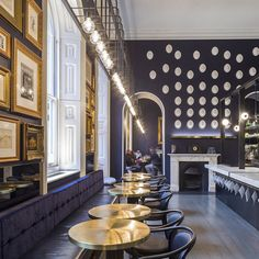 Somerset House café pays tribute to New Wing architect Sir James Pennethorne... http://www.we-heart.com/2015/01/20/pennethornes-cafe-bar-somerset-house-london/