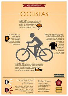 Sigue estos consejos sobre los elementos de seguridad que debes tener para evitar accidentes en bicicleta.