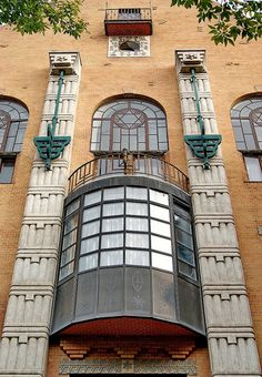 Budapest Jewish Quarter - Art Nouveau | Flickr - Photo Sharing!