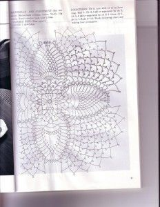 free diagrams for crochet pineapple stitches10