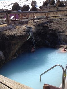 Hot Sulphur Springs, CO. Went here recently and it was amazing & so beautiful at night! Great view of the stars.