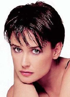 Demi Moore   Short Hair