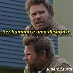 Ainda bem que sabe kkkk Supernatural Series, Supernatural Tumblr, Spn Memes, Funny Memes, Dean Castiel, Sam Dean, Fake Love, Have A Laugh, Series Movies