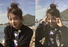 i love it when her hair is in a bun Kpop Girl Groups, Korean Girl Groups, Kpop Girls, Kang Seulgi, Kim Yerim, Red Velvet Seulgi, Bare Bears, Peek A Boos, K Idols