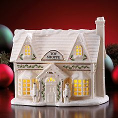 HAVE Lenox Village Lighted Toy Shoppe Figurine by Lenox