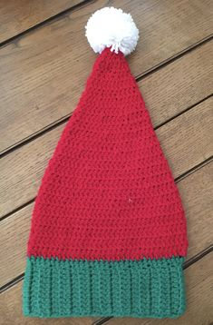 Baby baby pixie hat knitted hand embroidered hand unisex burgundy fir winter Christmas christmas cotton folk folk fairy country forest cozy country