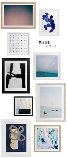 Room Essentials Profile 1 Gallery -Frames | Gallery wall, Modern and ...