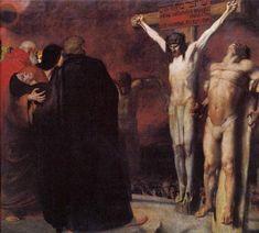 """Franz Von Stuck's  -  """"Christ's  Crucifixion"""""""