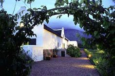 Jan Harmsgat Guest House accommodation in Swellendam in the winelands in South Africa