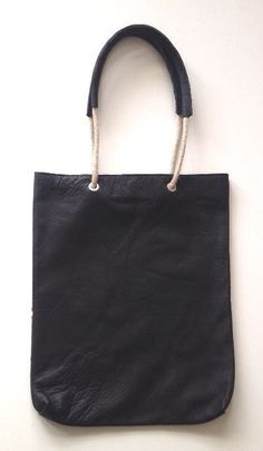 Barouffe Shopper Touwhengsel Black