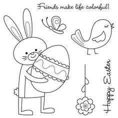 Close To My Heart Hoppy Easter