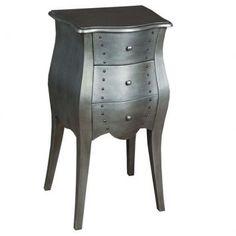 Criado-mudo metalic - Westwing.com.br - Tudo para uma casa com estilo