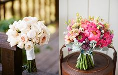 20 Strikingly Vibrant Bridal Bouquets