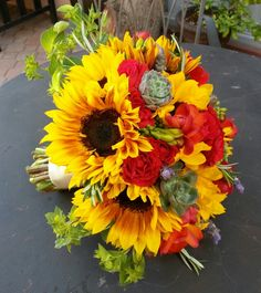 Tuscan inspired bouquet....@Aldea Weddings