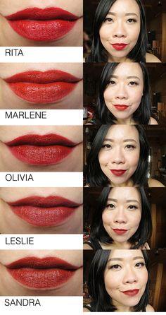 NARS Audacious Lipsticks Swatches & Review