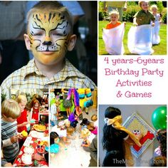 40 Kids Birthday Party Activities and Games for all ages