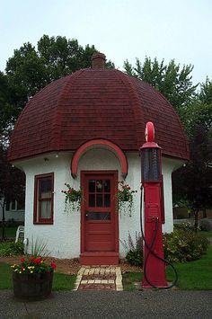 Little Mushroom House