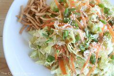 Chinese Chicken Salad  www.thecraftedsparrow.com