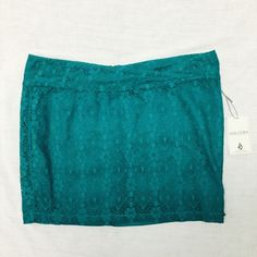 NEW! Volcom Lace Skirt Lnew with tags lace skirt by Volcom size 3 Volcom Skirts Mini