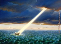 Vladimir Kush | Vladimir Kush Paintings - ulysses Painting