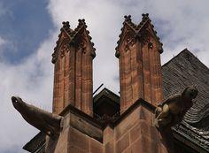 Worms, Dom St. Peter, Wasserspeier (St. Peter's Cathedral, gargoyles)
