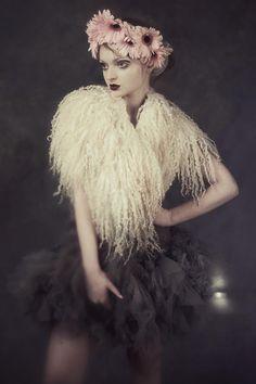 The Ether Euphoria | Papercut Magazine #felted #collar #fur #felting #galafilc