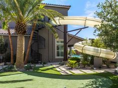 6: A Two-Story Water Slide