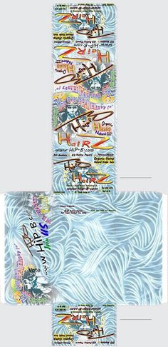HipB Hairs Hemp Rolling Papers