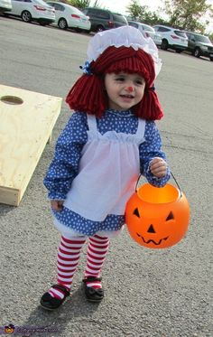 Raggedy Ann Baby Costume - 2015 Halloween Costume Contest