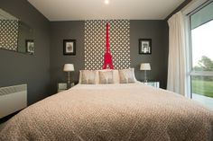 Bringing international travel and adventure into a bedroom space