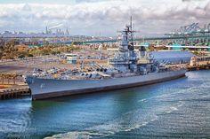 Port of Los Angeles USS Iawa.jpg | Ian C Whitworth Photography