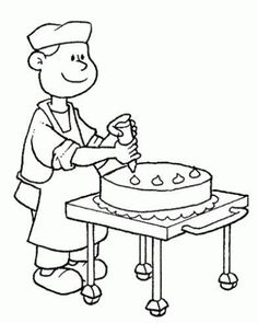 Jobs Coloring Pages 49 Online Coloring Pages, Cute Coloring Pages, Animal Coloring Pages, Printable Coloring Pages, Coloring Pages For Kids, Adult Coloring, Coloring Books, Art Drawings For Kids, Drawing For Kids