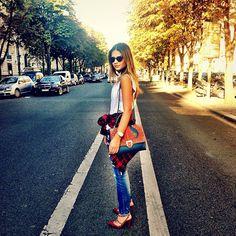 .@Thassia Mutammara Mutammara Naves | Dia maravilhoso aqui em Paris! #btviaja #thassiaemparis | Webstagram - the best Instagram viewer