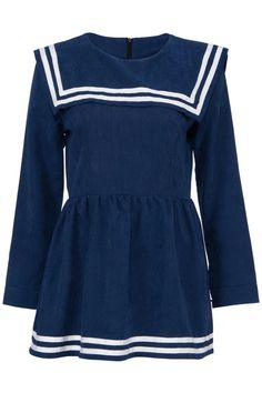 ROMWE | Blue Navy Dress, The Latest Street Fashion