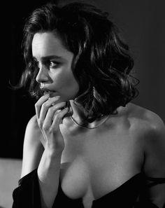 Emilia Clarke by Vincent Peters | Esquire. November 2015.